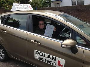 Dolan driving Lessons Torquay.JPG