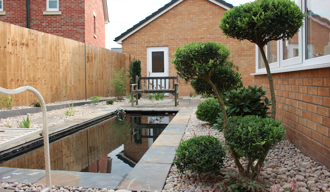 Formal pond and tranquil spaces