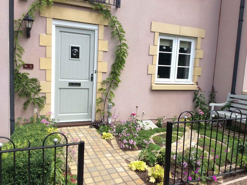 Abergavenny garden - finished project