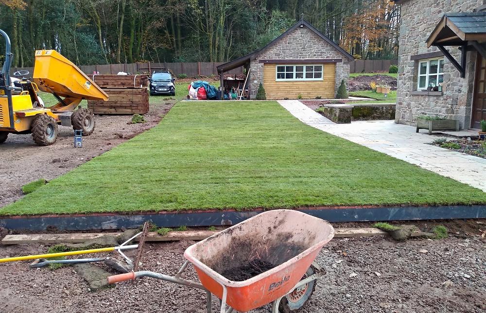 turfing, metal edging, landscaping, Monmouth, landscaper,
