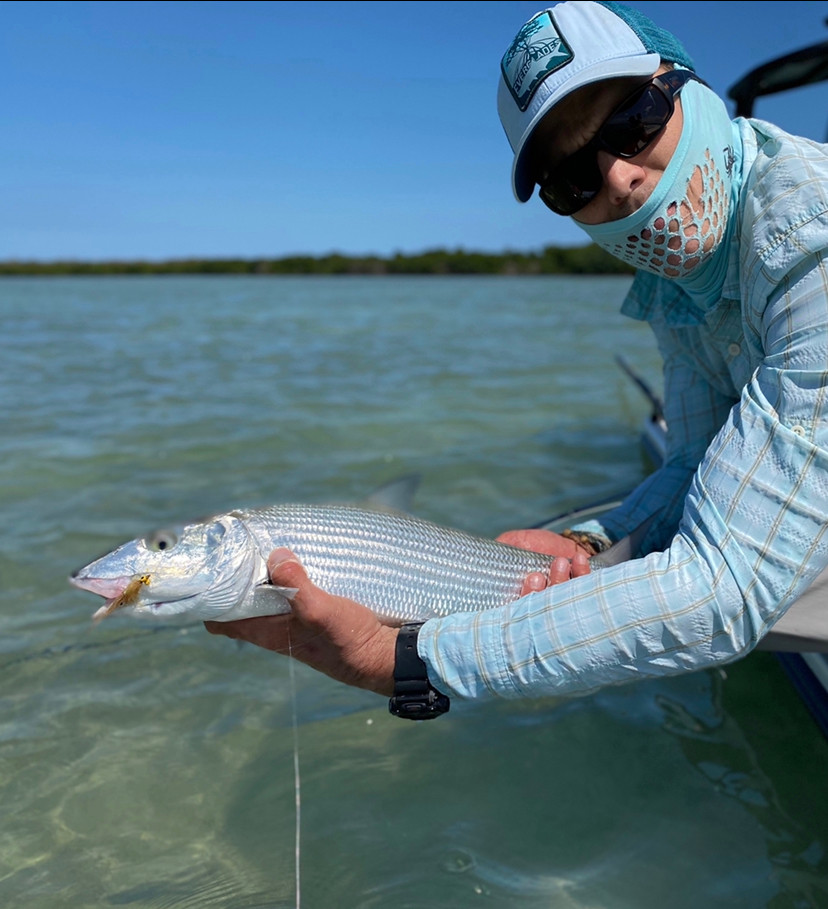 Bonefish on Fly in South Florida