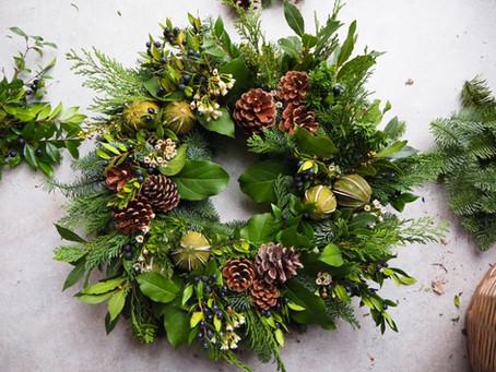 Christmas Wreath - a little history