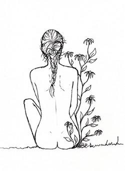 Bloemenmeisje (Bestuiving)
