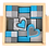 Thumbnail: Medium Blue & Grey Block Set
