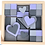 Thumbnail: Lilac & Grey Block Set
