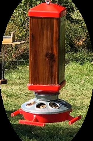 Hummingbird Feeder Conversion Base