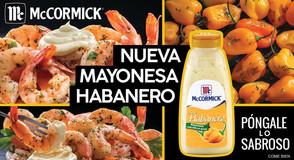Mayonesa Mc Cormick habanero