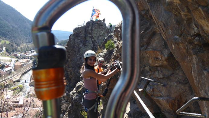 Via Ferrata Roca de la Creu K2