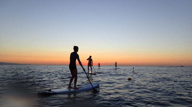 Group Stand up Paddle Barcelona