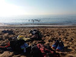 Bathing Sunrise Runners