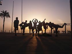 Group at Sunrise