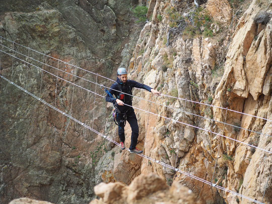 Bridge Cala Molí Via Ferrata Yepalo