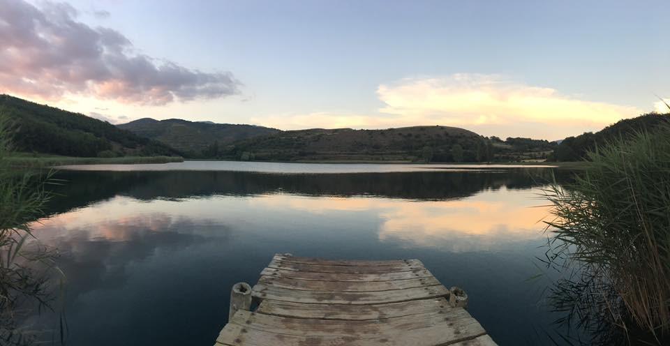Pirineos - Lago al atardecer
