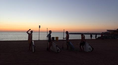 Sunrise Stand-up Paddle Barcelona