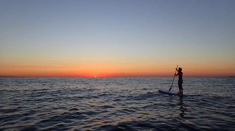 Sunrise SUP Paddle surf Barceloneta