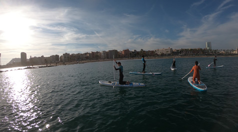 Stand up Paddle Surf Barceloneta