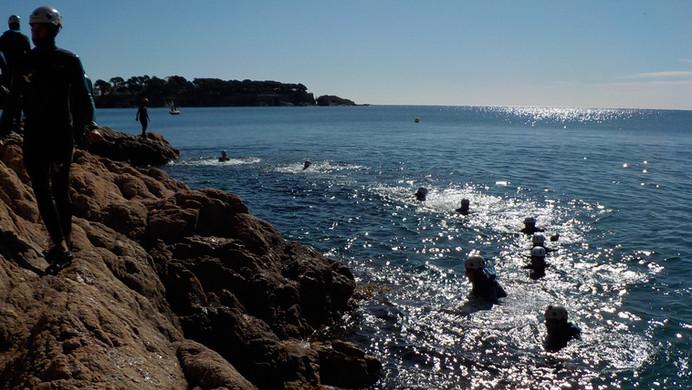 Yepalo coasteering sant feliu guixols