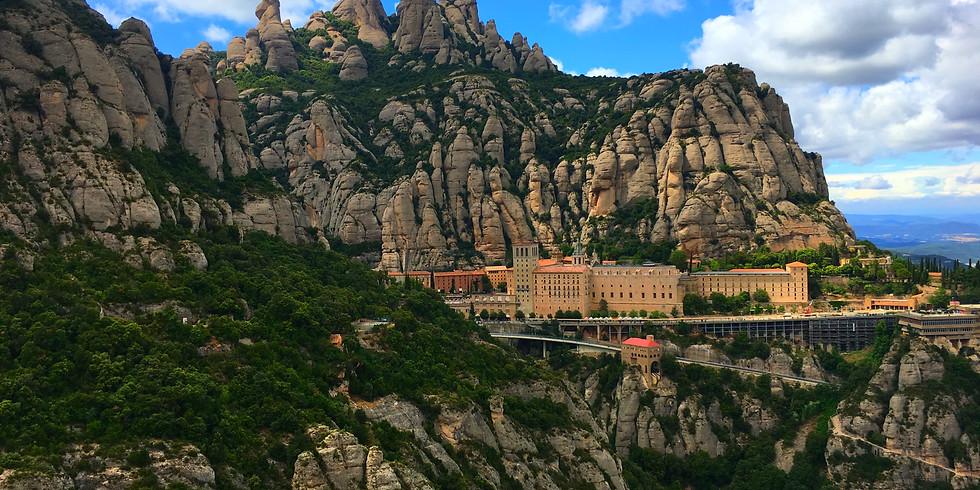 Senderismo al Monasterio de Montserrat!