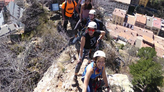Roca de la CReu - vistas sobre Ribes de Fres