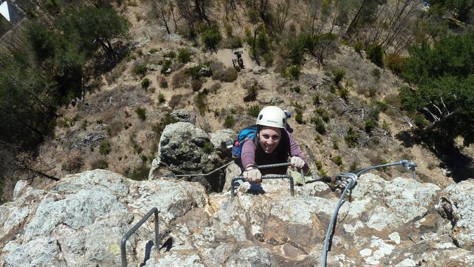 Via Ferrata Roca de la Creu - climbing