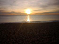 Fantastic Splash at Sunrise
