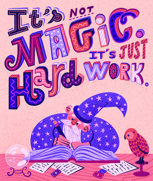 Magic Lettering