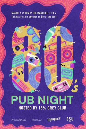80s Pub Night