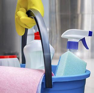 Bär rengöringsmedel