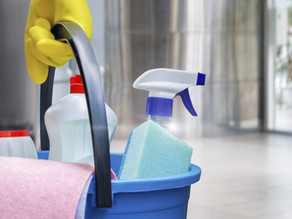 THE IMPORTANCE OF CLEANING AND DISINFECTING WHILE MOVING