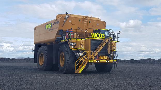 CAT 789 Water Truck