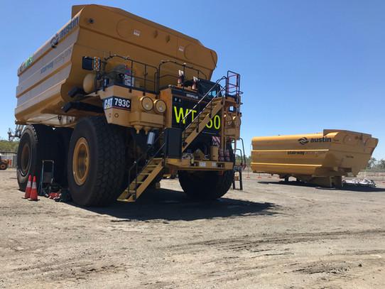 CAT 793 Water Truck
