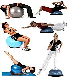 gymball bosu gym fitness