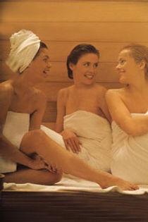 sauna transpirer minceur détente anti stress