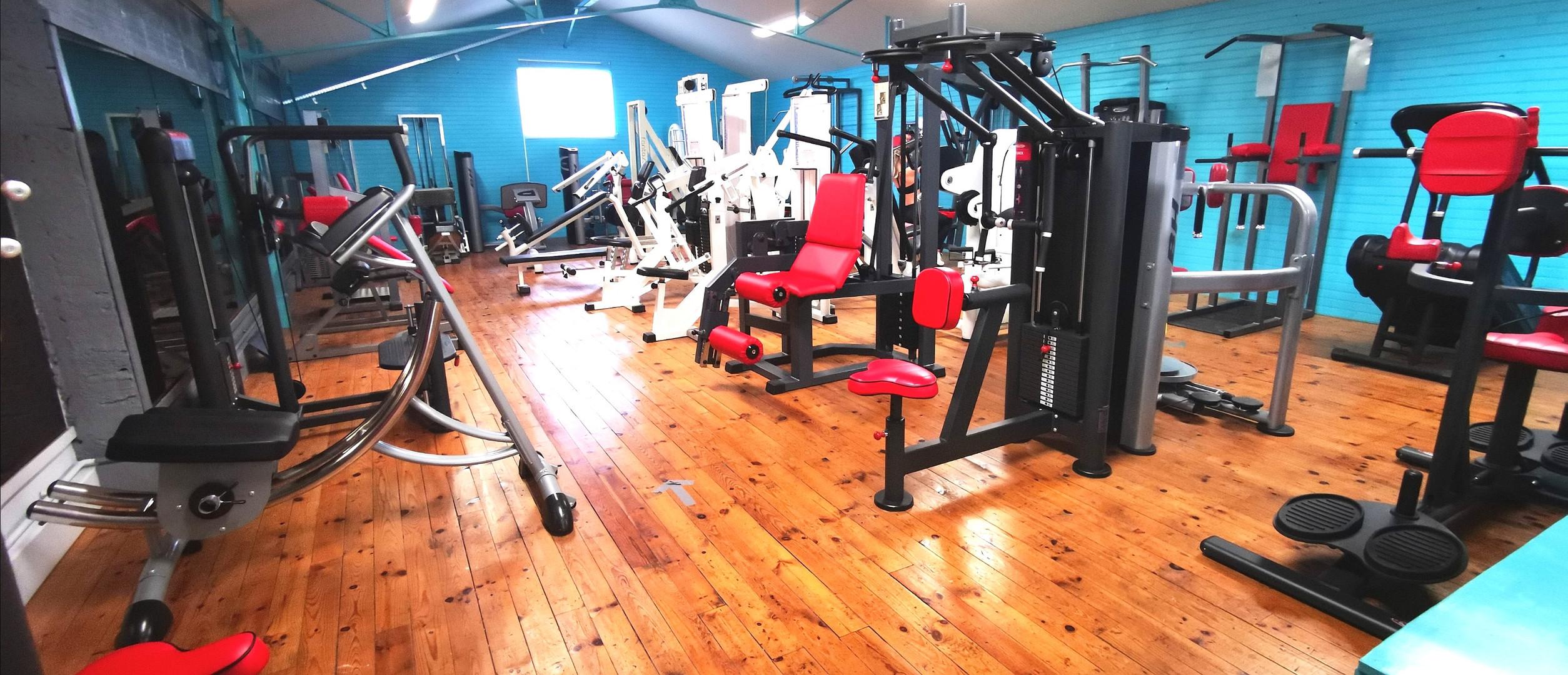 Salle de Musculation côté machines