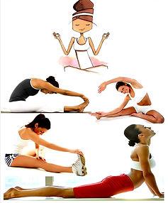 stretching étirements gym fitness assouplissement