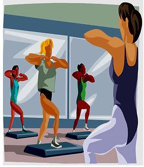 VitaStep step gym fitness cardio VitaForme Tonneins