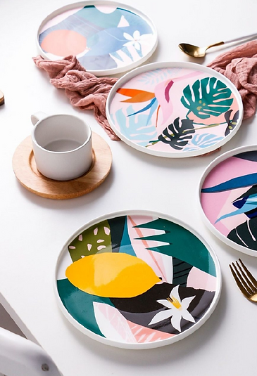 imagen de platos