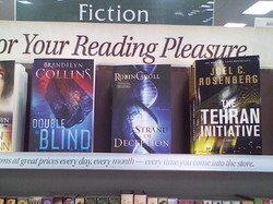 Strand if Deception is out! And in good company with Brandilyn Collins and Joel Rosenburg!