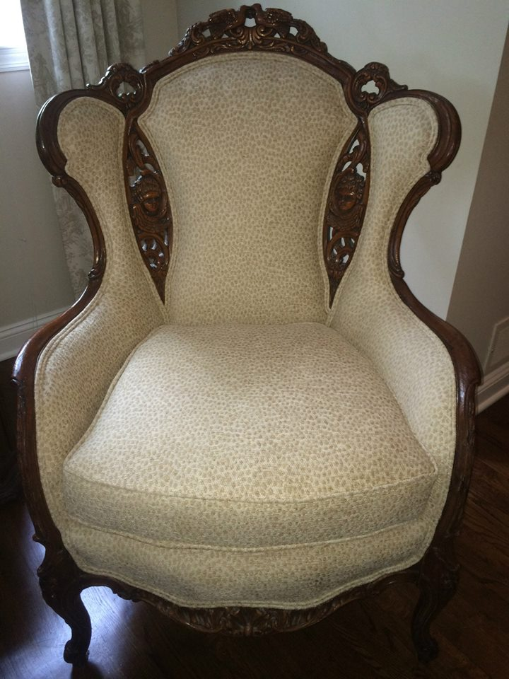 Antique Wing Chair