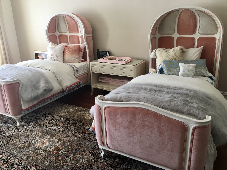 Velvet Twin Beds