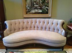 Tufted Antique Sofa