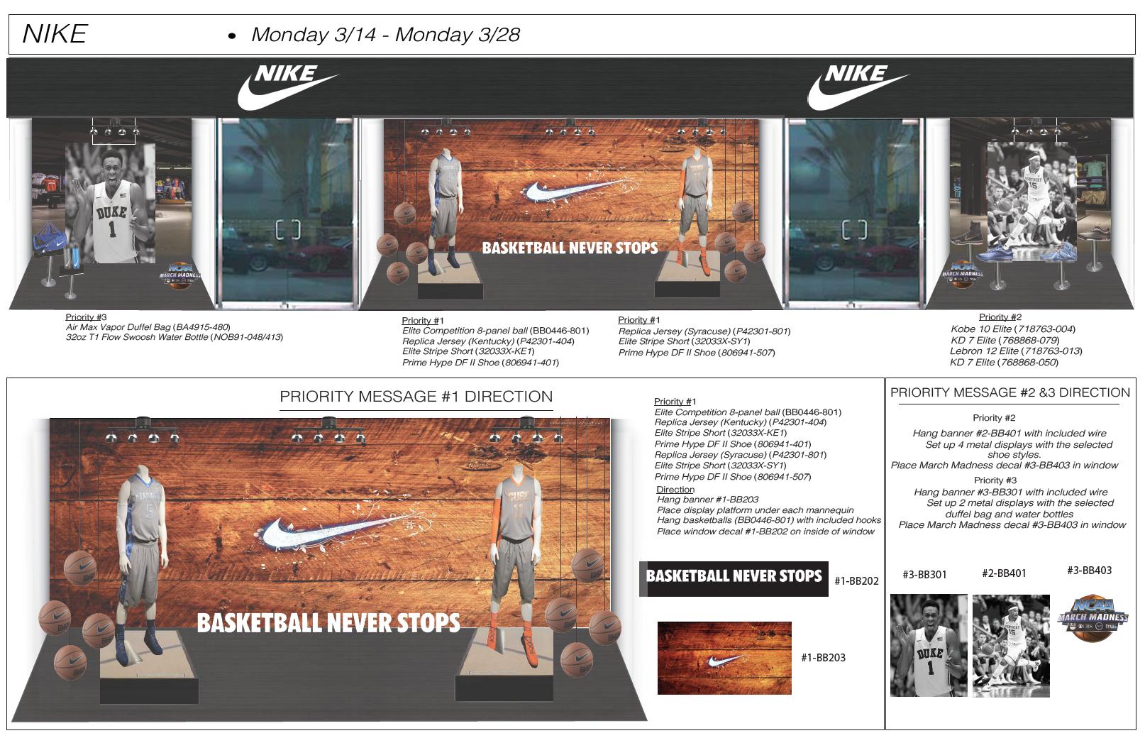 Nike Window Directive
