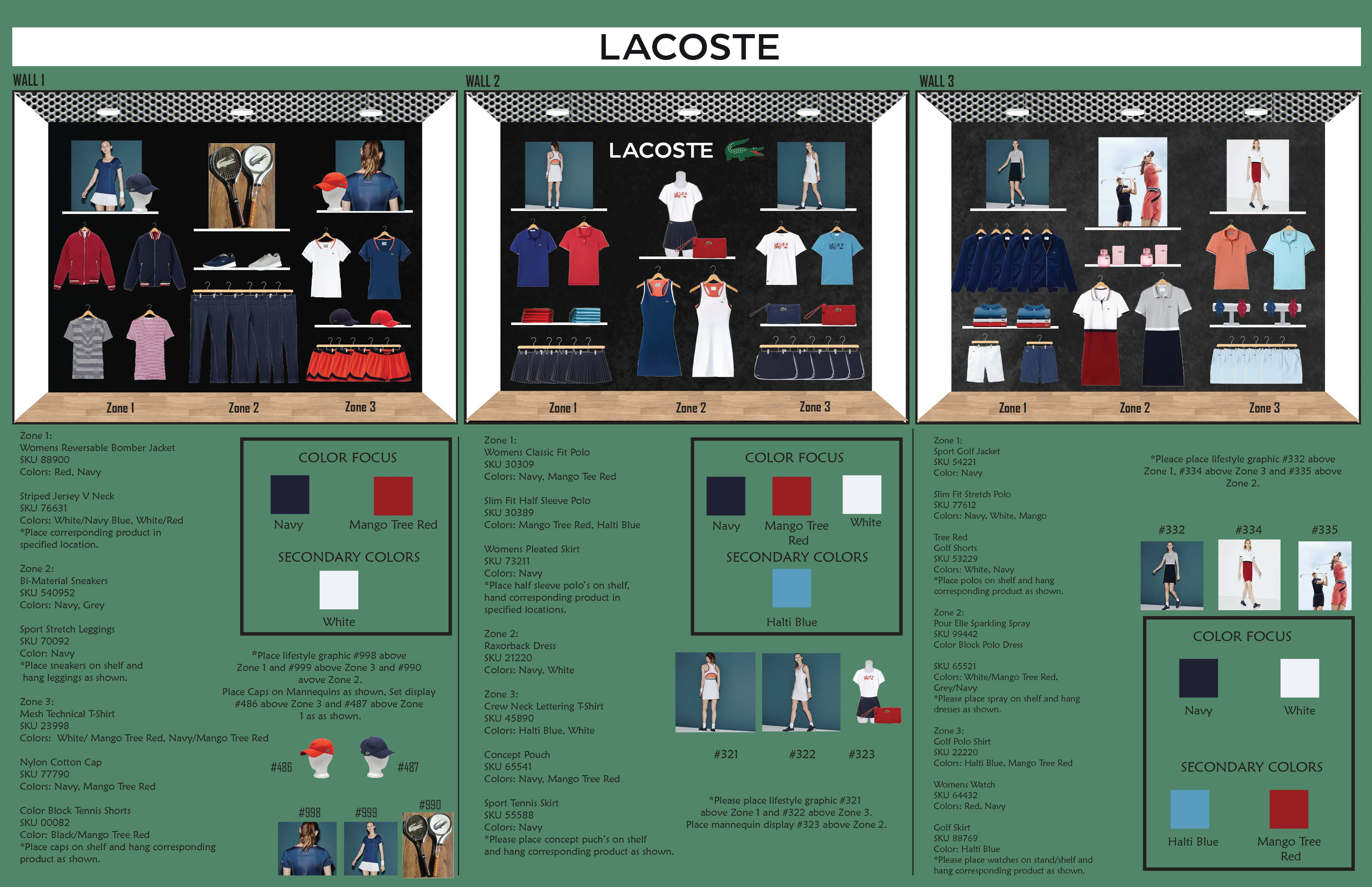 Lacoste Wall Directive