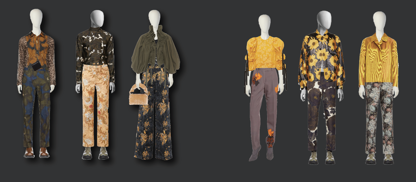 Dries Van Noten Digital Styling