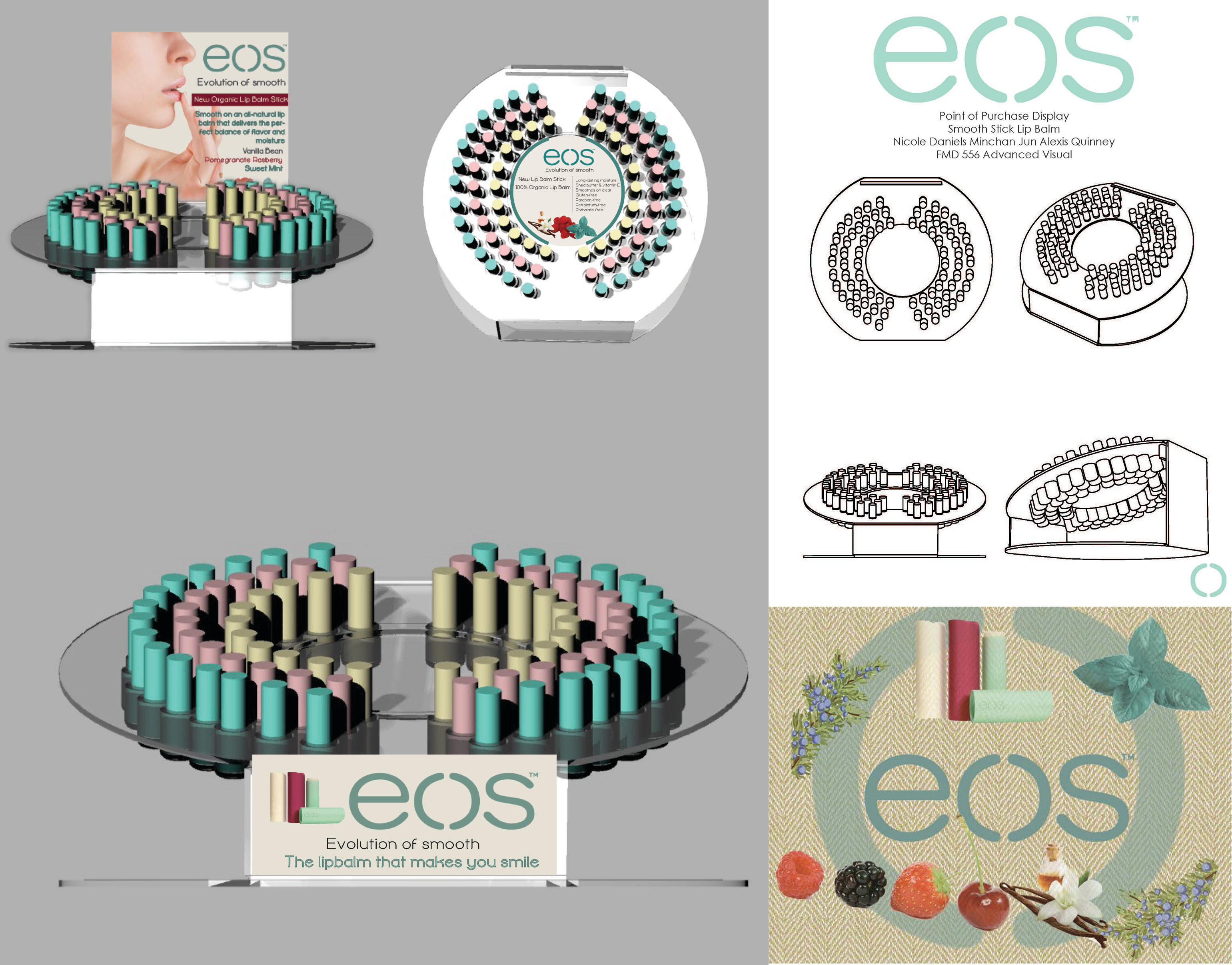 E.O.S. Point of Purchase Display