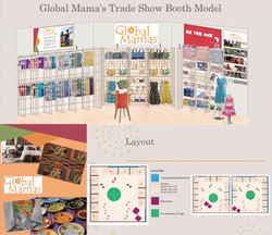 Global Mama's Trade Show Booth