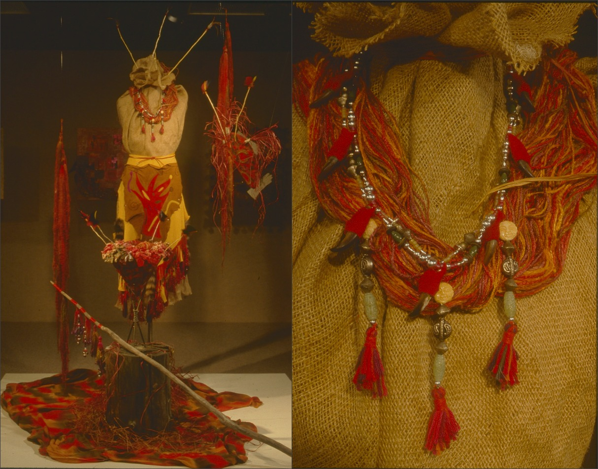 Shamanic Warrior Installation