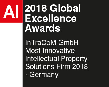 AI Award InTraCoM GmbH Most Innovative Intellectual Property Solutions Firm 2018