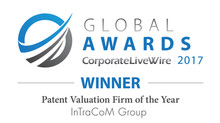 "Ausgezeichnet zur ""Patent Valuation Firm of the Year""!"
