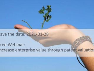 KOSTENLOSES WEBINAR: Unternehmenswert erhöhen durch Patentbewertung [EN]